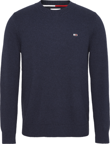 Tommy Jeans TJM Light Blens Crew Sweater - Twilight Navy