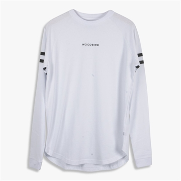 Woodbird Greak Sign tee - White