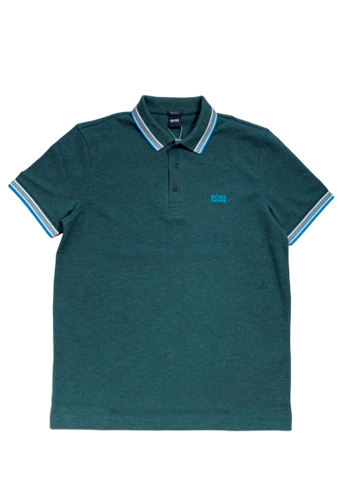 BOSS Athleisure Paddy Polo - Open Green