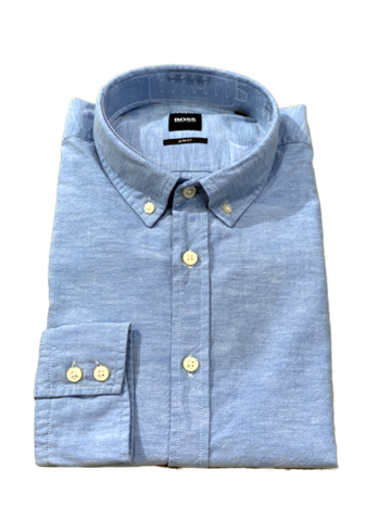 BOSS Casual Mabsoot shirt - Open Blue