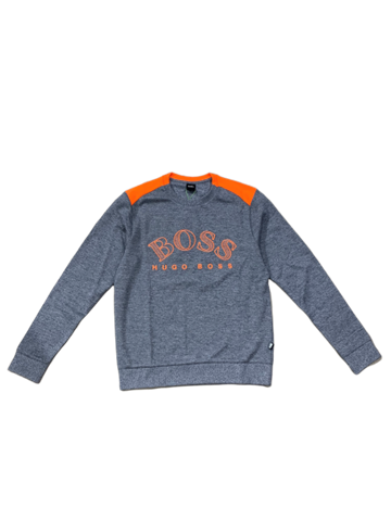 BOSS Athleisure Salbo sweatshirt - Navy