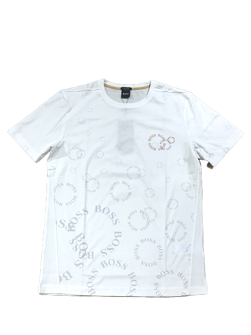 BOSS Athleisure Tee 5 T-shirt - Open White