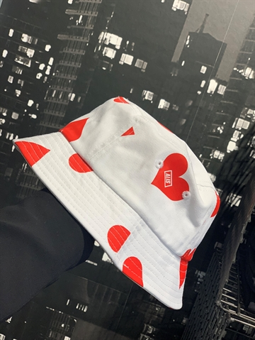 ALIS Lovers Bucket hat - White
