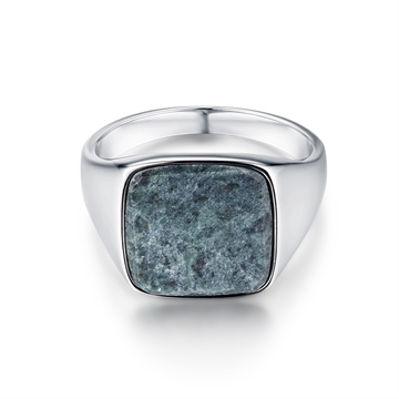 Northern Legacy Verde Signature ring - Silver