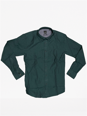 BOSS Casual Mabsoot Shirt - Open Green