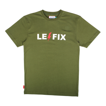 Le Fix Lightning t-shirt - Bottle Green