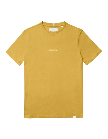 Les Deux Lens t-shirt - Yellow/White