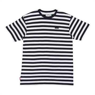 Le Fix Stripe tee - White/Navy