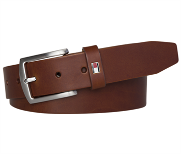 Tommy Hilfiger New Denton 3.5 Belt - Dark Tan