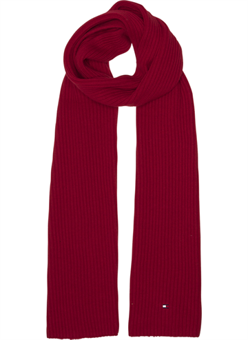 Tommy Hilfiger Pima cotton cashmere scarf - Tommy Red