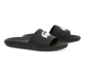 Lacoste Croco slide 119 - Black / White