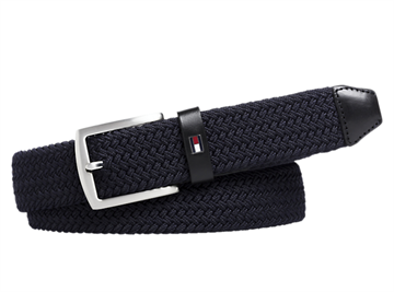Tommy Jeans Denton elastic belt - Tommy Navy