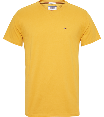 Tommy Jeans TJM Essential solid t-shirt - Golden Glow
