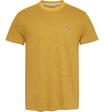 Tommy Jeans TJM Overdyed stripe t-shirt - Golden Glow