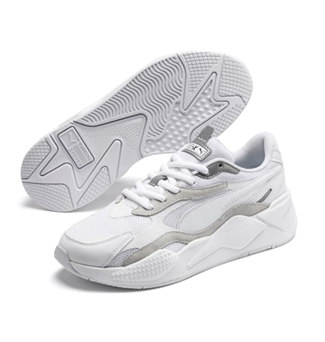 Puma RS-X Puzzle Sneakers - White/Silver