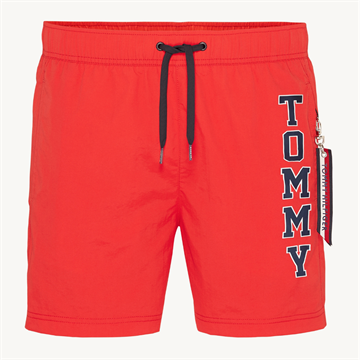Tommy Hilfiger SF medium drawstring swimshorts - Tomato