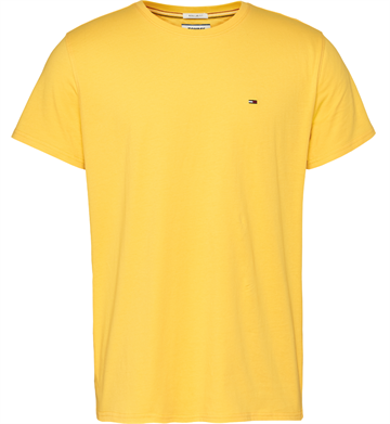 Tommy Jeans TJM Essential Solid t-shirt - Star Fruit Yellow