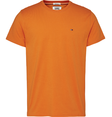 Tommy Jeans TJM Essential Solid t-shirt - Bonfire Orange