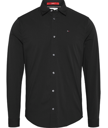 Tommy Jeans TJM Original strech shirt - Black