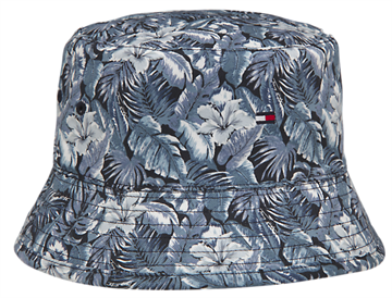Tommy Hilfiger Flag bucket hat reversible - Blue
