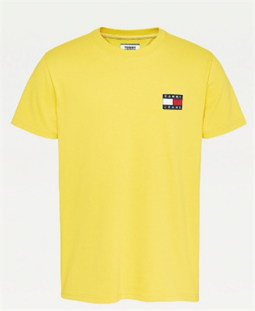 Tommy Jeans TJM Badge tee - Star Fruit Yellow