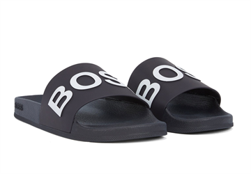 BOSS Bay Slid rblg sandaler - Black