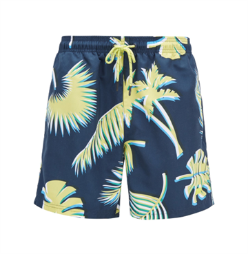 BOSS Piranha badeshorts - Open Blue