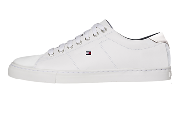 Tommy Hilfiger Essential Leather Sneaker - White