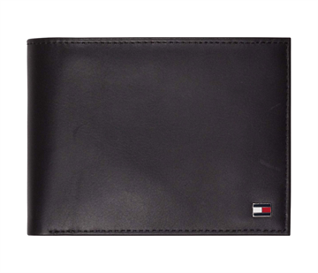 Tommy Hilfiger Eton CC Flip And Coin Pocket - Black