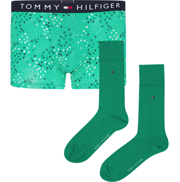 Tommy Hilfiger Trunk Sock set - Primary Green/Primary Green