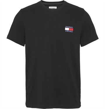 Tommy Jeans TJM Badge tee - Black