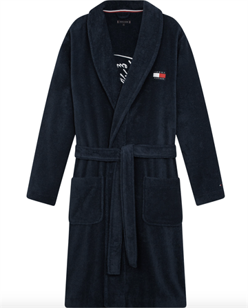Tommy Hilfiger Towelling Robe - Desert Sky