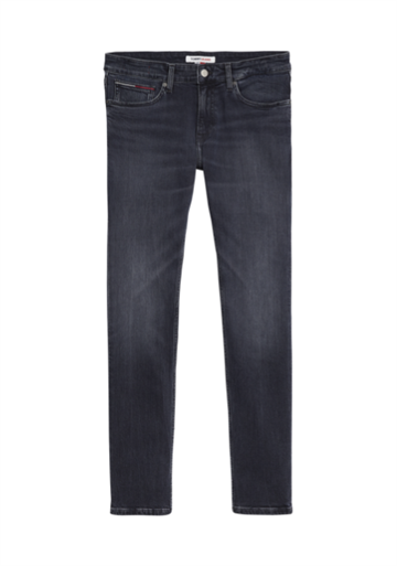 Tommy Jeans Slim Scanton MDBST Jeans - Midnight Dark Blue STR