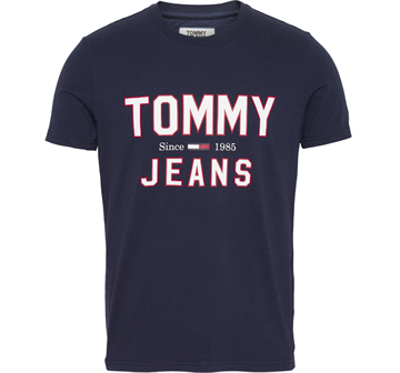 Tommy Jeans Essential 1985 Logo T-shirt - Black Iris