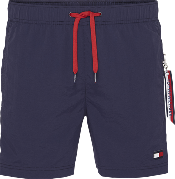 Tommy Hilfiger SF medium drawstring swimshorts - Navy Blazer