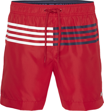 Tommy Hilfiger medium drawstring swimshort - Tango Red