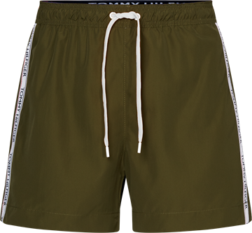Tommy Hilfiger Medium Drawstring badeshorts - Army Green
