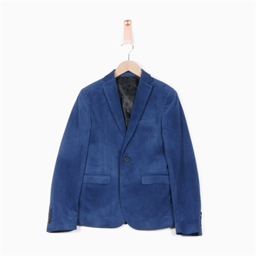 Formél Velvet Blazer - Royal Blue