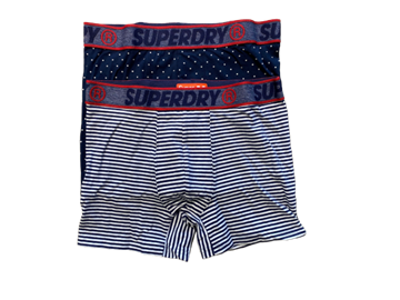 Superdry boxershorts double pack - M8M