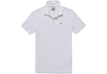 Tommy Jeans TJM Original Fine Pique polo s/s - White