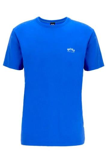 BOSS Athleisure Tee Curved - Bright Blue