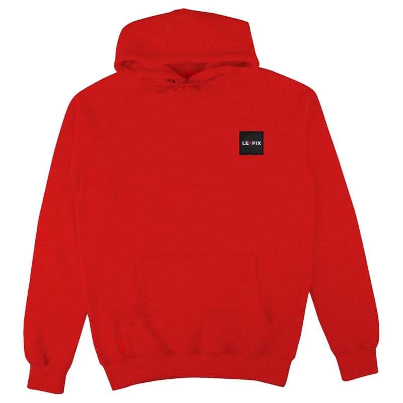 Le Fix Patch hoodie - Red