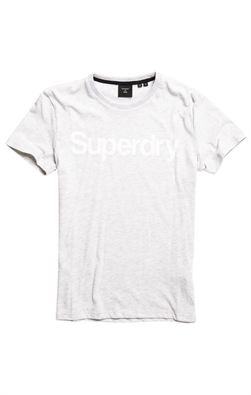 Superdry CL NS t-shirt - Ice Marl