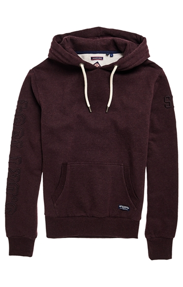 Superdry TF Hoodie - Autumn Blackberry Marl