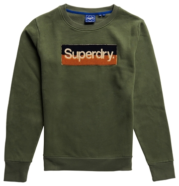 Superdry CL Workwear crewneck - Four Leaf Clover