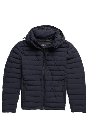 Superdry Hooded Fuji jacket - Darkest Navy
