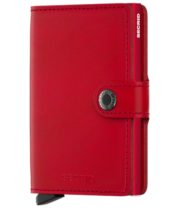 Secrid Miniwallet Original Red - Red