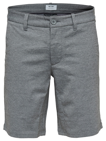 Only & Sons Mark shorts GW 3786 - Medium Grey melange