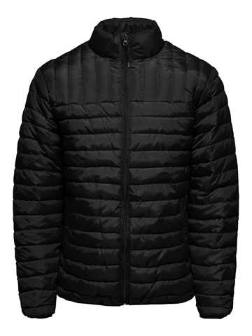 Only & Sons Paul Quilted Highneck Jacket - Black