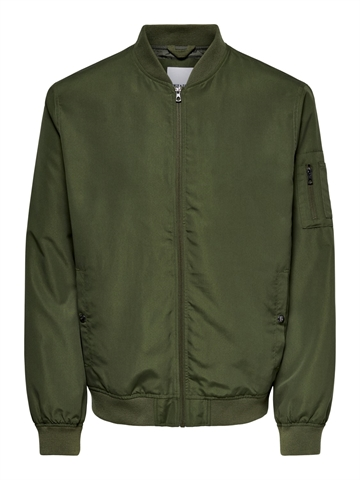 Only & Sons Jack Bomber jacket - Olive night